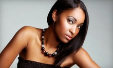 Haircut, Shampoo, and Style with Option for Relaxer Touch-Up or First-Time Treatment at Kreative Touch (Up to 51% Off)