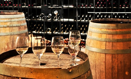 Winery Visit with Souvenir Glasses, Snacks, and Gift-Shop Credit for Two or Four at The Winery at Bull Run (Half Off)
