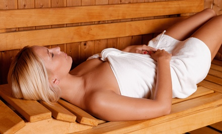 1, 3, or 5 Infrared-Sauna Sessions, or Month of Unlimited Sessions at Cleanse Natural Health Spa (Up to 58% Off)