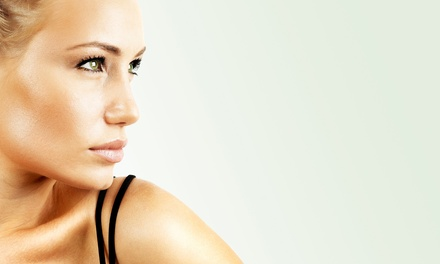 Infrared Spray Tan or One or Two Spray Tans with Temporary Tattoos at Brazil Bronze Glow Bar (Up to 59% Off)