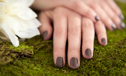 $39 for a Mini Shellac Manicure and a Mini Pedicure at Pink Lime Salon & Spa ($149 Value)