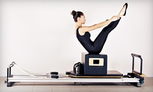 Three or Five Private Pilates Reformer Classes or One Month of Unlimited Fitness Classes at Pilates Plus (Up to 60% Off)