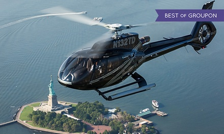 12-15 or 18-20 Minute Helicopter Tour of New York City from Helicopter Flight Services, Inc. (Up to 32% Off)
