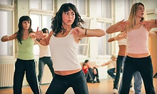 Five Zumba and Cardio-Kickboxing Classes or 30 Days of Unlimited Classes at Rhythmic Body Fitness (Up to 62% Off)