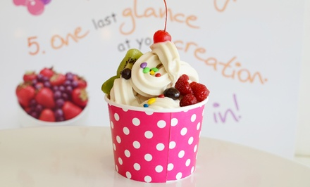 $10 for Punch Card for Frozen Yogurt and Drinks at Berry Cool Frozen Yogurt ($18 Value)