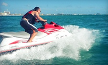 Jet Skiing and Paddleboarding from Extreme Wake Jet Ski Rental Tours (Up to 53% Off). Four Options Available.