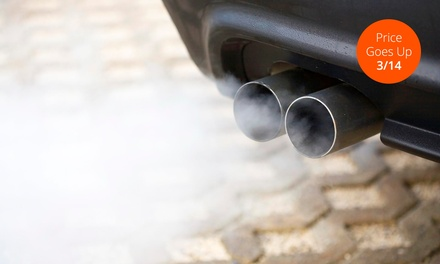 $25 for Smog Check at Menlo Park Star Smog Station ($85 Value)
