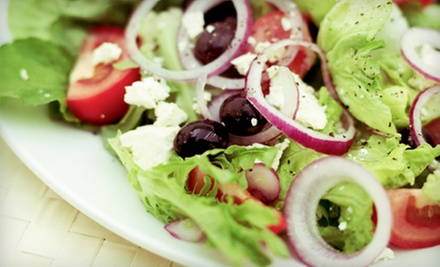 $19 for Organic Meal for Two with One Appetizer and Two Entrees at Tree Hugger's Cafe (Up to $38 Value)