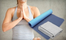 $79 for a Yoga Package with One Month of Unlimited Classes, a Mat, and a Towel at Bikram Yoga Vancouver ($230 Value)