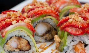 Sushi And Contemporary Asian Fusion Food At Pure Restaurant & Lounge (50% Off). Two Options Available.