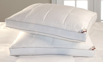 2-Pack of Kathy Ireland Quilted Feather Down Pillows