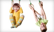 $45 for Four Consecutive Weeks of Classes and Annual Membership at The Little Gym ($160 Value)