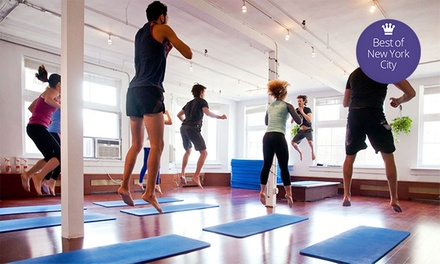5, 10, or 15 Mindbody Bootcamp Classes at Circuit of Change (Up to 72% Off)
