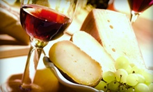 Wine and Cheese Tasting at Winery by the Creek or Charles B. Mitchell Vineyards (Half Off). Four Options Available.  