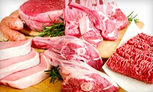 $25 for $50 Worth of Meat, Seafood, and Deli Items at Mother Earth Meats
