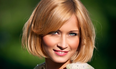 Men's Haircut or Women's Haircut and Style with Optional Colour at Basic and Beyond Hair Salon (Up to 59% Off)