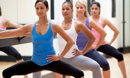 5 or 10 Barre Classes or One Month of Barre Classes at Above Barre Athens (Up to 62% Off)