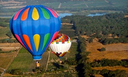 $179 for a Hot Air Balloon Ride with Champagne Toast from Sonoma Valley Balloons ($360 Value)