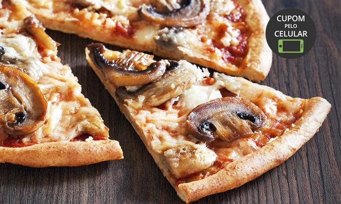 Cascata Pizzas - Ribeirão Preto: Cascata Pizzas – Sumarezinho: 1 ou 2 pizzas grandes