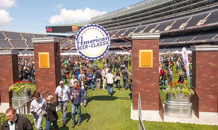 American Beer Classic at Soldier Field on Saturday, May 9, at 11:30 a.m. or 3:30 p.m. (Up to 34% Off)