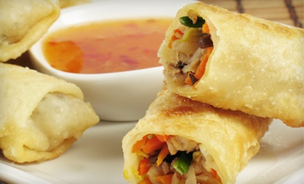 $12 for Chinese Buffet with Tea for Two at Mandarin House (Up to a $23.96 Value)
