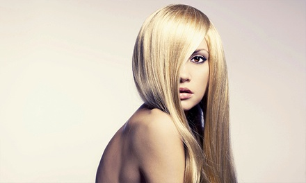 $29 for a Haircut and Shine Glaze Treatment from Monica Lanter Hairstylist ($60 Value)