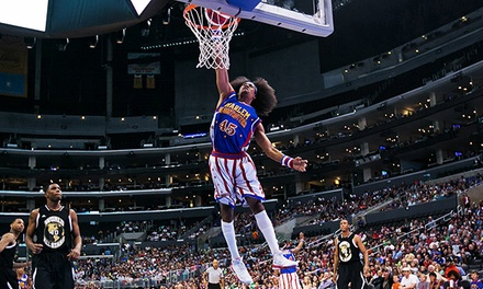 Presale: Harlem Globetrotters at Valley View Casino Center February 8 at 2 p.m. or February 13 at 7 p.m.  (40% Off).