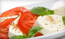 Italian Cuisine for Two or Four at Trattoria Saporito (Up to 54% Off). Four Options Available.