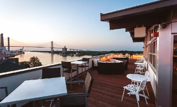 luxury boutique hotel along savannah river groupon. Black Bedroom Furniture Sets. Home Design Ideas
