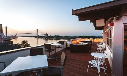 Stay at The Cotton Sail Hotel in Savannah, GA. Dates into April 2015.
