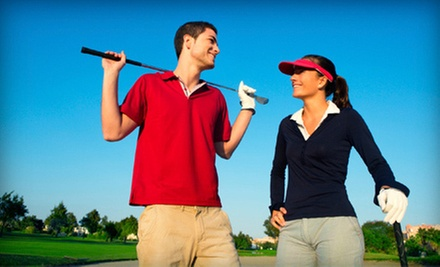 One, Three, or Five Private Lessons with Robb Nunn from Golf Equation Swing Academy (Up to 74% Off)
