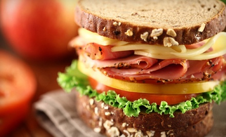 $10 for a Sandwich Meal for Two with Bowls of Soup or House Salads at Cat&#x27;s Coffee (Up to $21 Value)