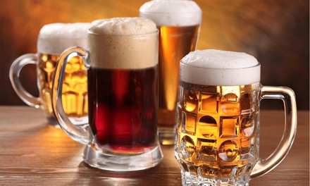 50% Off Draft Beer a...