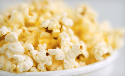One or Three Jumbo Bags of Popcorn at What'z Pop'n Gourmet Popcorn & Treats, Inc. (Up to 56% Off)