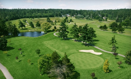 Golf for One, Two, or Four with Cart Rental and Unlimited Range Balls at Whidbey Golf and Country Club (Up to 60% Off)