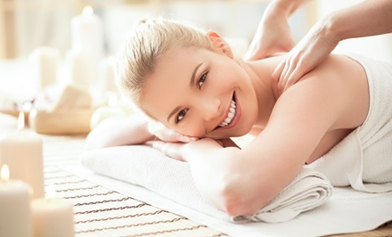 One or Three Two-Hour Body Scrubs and Full-Body Massages at First Class Skin Care and Wax (Up to 56% Off)