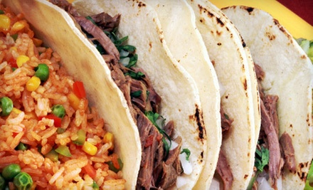 $8 for $16 Worth of Mexican Food and Drinks at Speedy Gonzalez