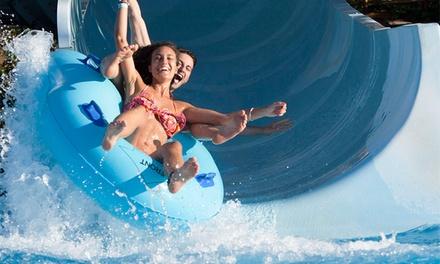 Aquabadajoz — Badajoz: bilhete de adulto ou de criança para o parque aquático desde 7,95€