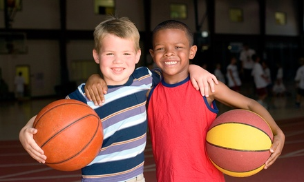 $135 for One-Week Rockets Kids' Basketball Camp Session from The National Basketball Academy ($255 Value)
