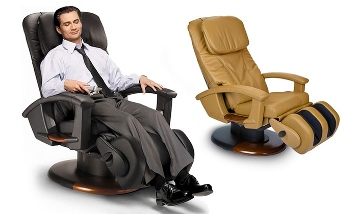 Human Touch Robotic Stretching Massage Chair Refurbished Groupon