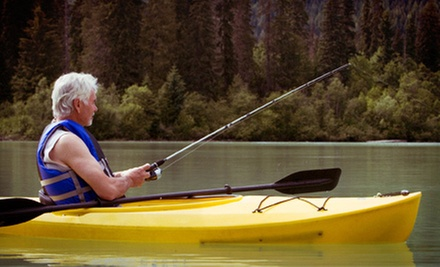 $49 for a Guided Kayak Fishing Trip for One from Riverfront Kayaks ($99 Value)