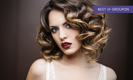 Cut with Optional Partial or Balayage Highlights or Keratin Smoothing at Passions for Hair & Spa (Up to 63% Off)