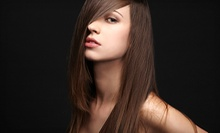 Keratin Treatment, or Haircut with Optional Keratin Treatment, Color, or Highlights at Emris Penny Salon (Up to 62% Off)