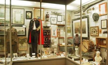 Admission for Two or Four at Motts Military Museum (50% Off)