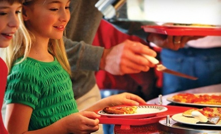 Pizza Buffet and Games Package for Two or Four Monday–Friday at Incredible Pizza Company 86th St. (52% Off)