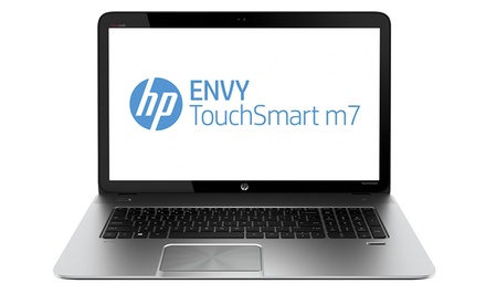 "groupon daily deal - HP Envy 17.3"" TouchSmart Full 1080p HD Laptop with Beats Audio (M7-J020DX) (Manufacturer Refurbished). Free Returns."