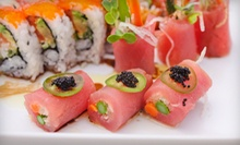 $15 for $30 Worth of Sushi and Japanese Food at Sushi Unlimited