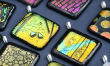 $21 for a Two-Hour Pendant-Making Class or a Stained-Glass Jewelry-Making Class at Canterbury Stained Glass ($44 Value)