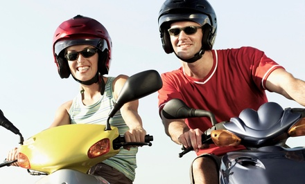 Scooter Rental from EagleRider (Up to 56% Off). Four Options Available.