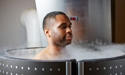 One or Three Cryotherapy Sessions at The Phit Studio (Up to 49% Off)